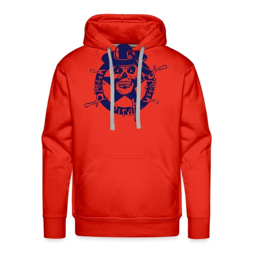 breizh pirate designer general breizhor 1c - Sweat-shirt à capuche Premium pour hommes
