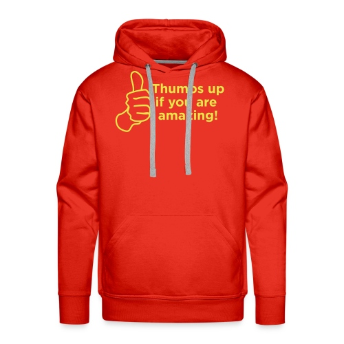 thumbs up - Men's Premium Hoodie