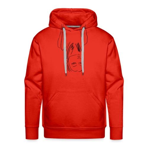 Lineart No.4 - Männer Premium Hoodie