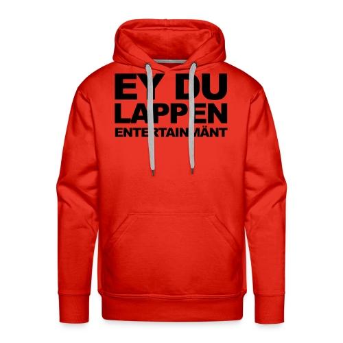 Standart EDL logo schwarz - Männer Premium Hoodie
