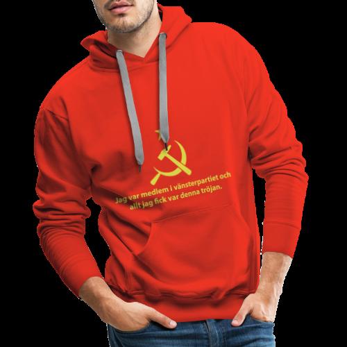 Vänsterpartiet Kommunisterna - Premiumluvtröja herr