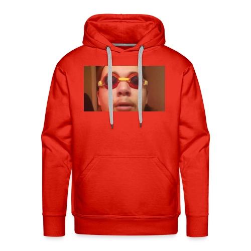 camiseta top cara de tonto - Sudadera con capucha premium para hombre