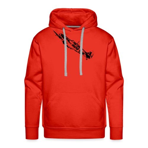 World War Spitfire - Men's Premium Hoodie