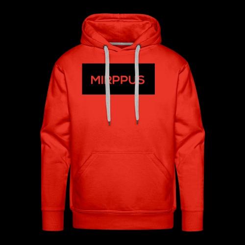 Mirppus Logo - Miesten premium-huppari