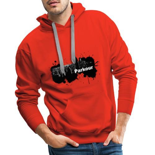 Parkour Splash New York - Herre Premium hættetrøje
