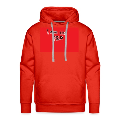 I am the pro - Men's Premium Hoodie