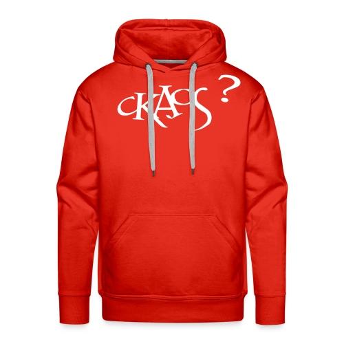 ckaos2 - Sweat-shirt à capuche Premium pour hommes