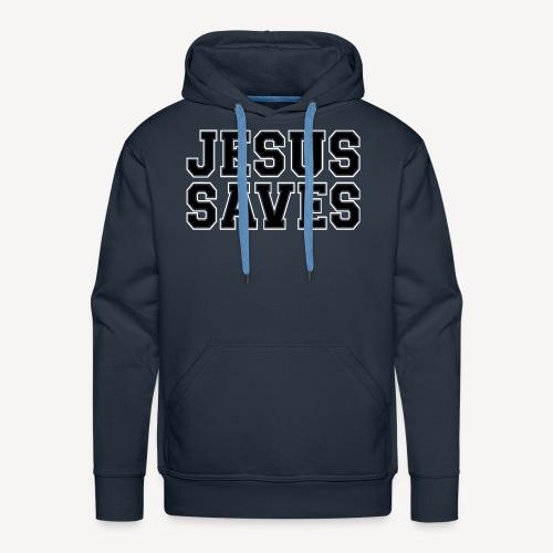 JESUS SAVES - Men's Premium Hoodie