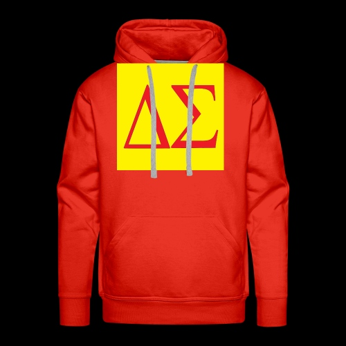Logo Orange - Sweat-shirt à capuche Premium pour hommes