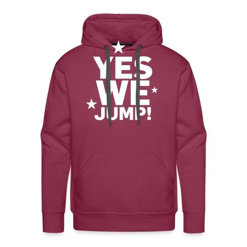 yes we jump - Männer Premium Hoodie