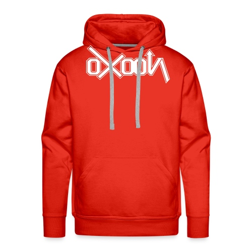 oxoon logo finition - Sweat-shirt à capuche Premium pour hommes