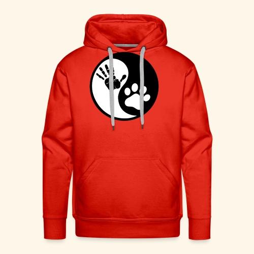 Hunde Yin Yang T-Shirt - Männer Premium Hoodie