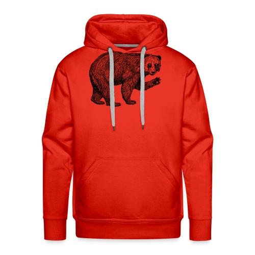 Bear Bamboozle - Männer Premium Hoodie