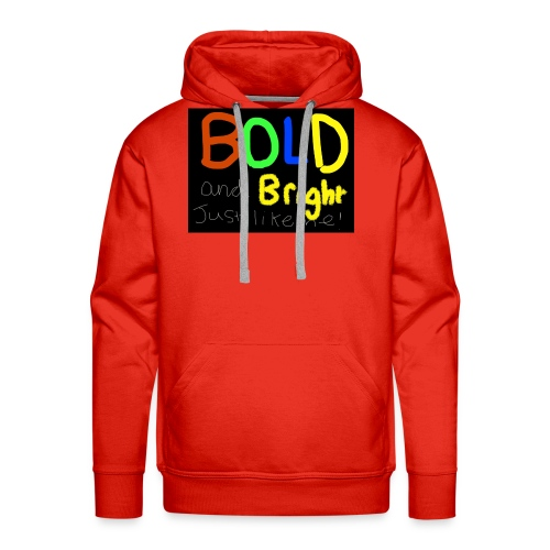 Bold and bright - Men's Premium Hoodie