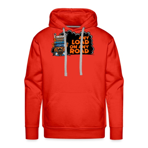 0323 any load on any road - Mannen Premium hoodie