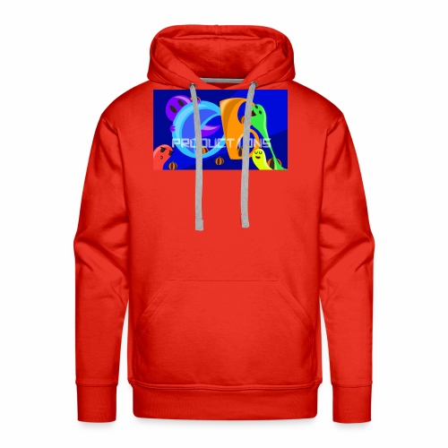 OB Productions Halloween 2017 Logo - Men's Premium Hoodie