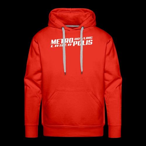 Métropolis Bowling-Laser - Sweat-shirt à capuche Premium pour hommes