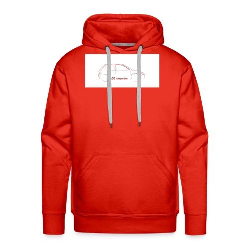 logo lcocompeticion - Sudadera con capucha premium para hombre