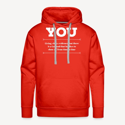 you - Men's Premium Hoodie