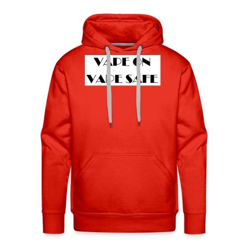 VAPE ON - Männer Premium Hoodie