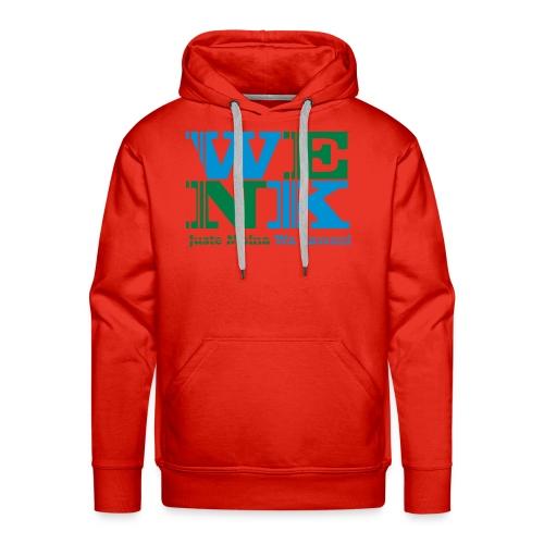 WENK - Sweat-shirt à capuche Premium pour hommes