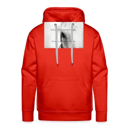 Association les enfants de pégase - Sweat-shirt à capuche Premium pour hommes