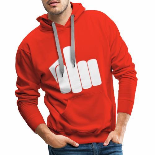 fuck2 - Sweat-shirt à capuche Premium pour hommes