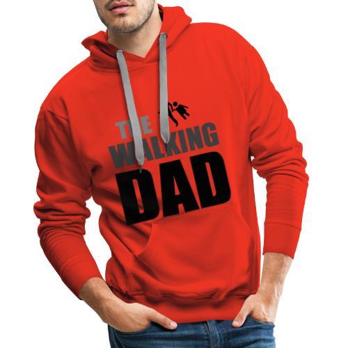 the walking dad auf dem Weg in die lustige Bar - Männer Premium Hoodie