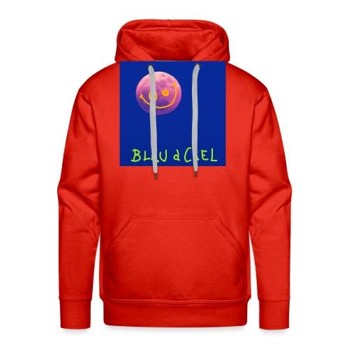 BLEU d CIEL- PINK mOOn collection - Sweat-shirt à capuche Premium pour hommes