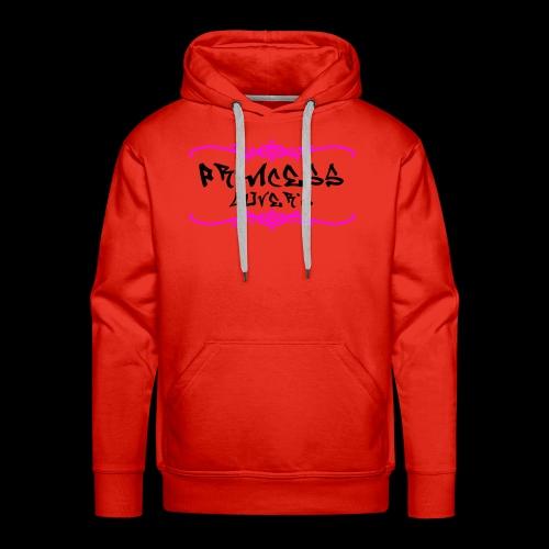 princesse lover's - Sweat-shirt à capuche Premium pour hommes