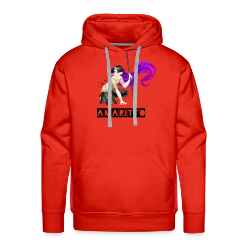 official amaritto logo - Men's Premium Hoodie