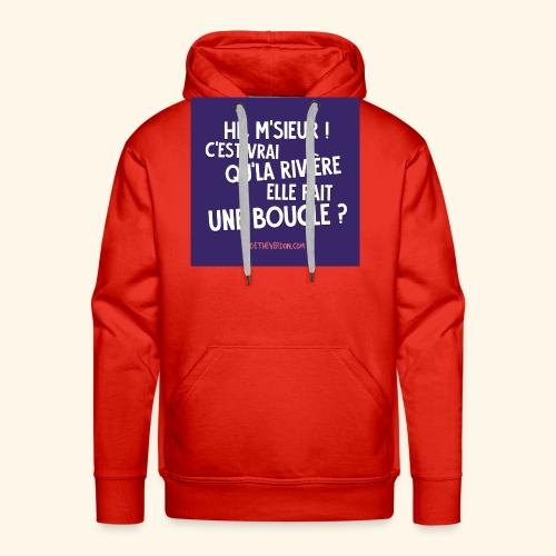 La boucle - Sweat-shirt à capuche Premium pour hommes