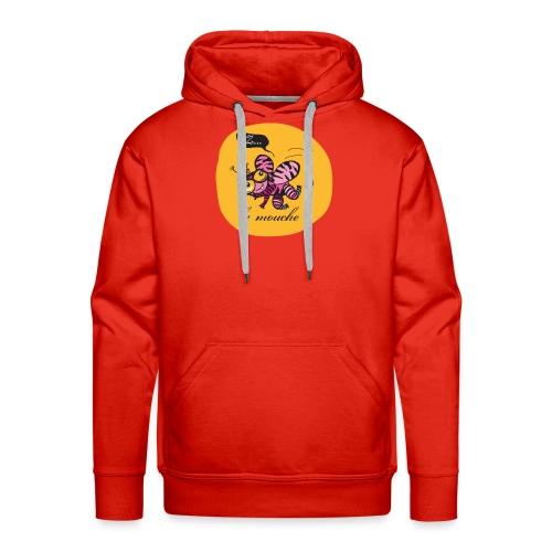 Z la Mouche - Sweat-shirt à capuche Premium pour hommes