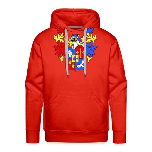 LECOMBLE 08 - Sweat-shirt à capuche Premium pour hommes
