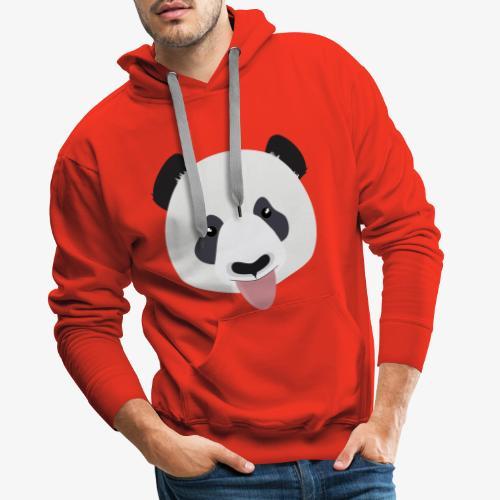 Funny Panda Bear - Men's Premium Hoodie