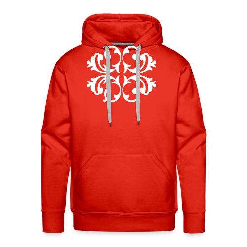 Blumen Muster - Außergewöhnliches Design - Männer Premium Hoodie