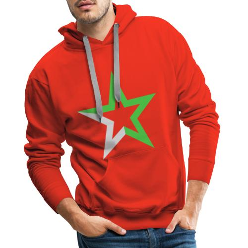 Etoile des Numériques, sans logo - Sweat-shirt à capuche Premium pour hommes