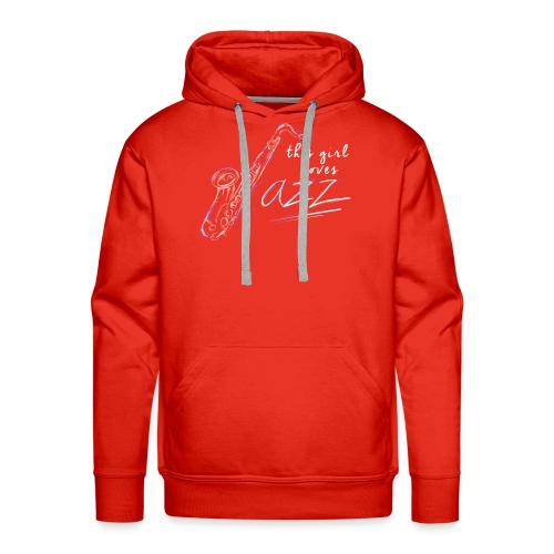 This girl loves Jazz - Männer Premium Hoodie