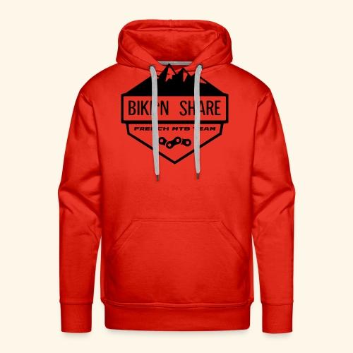 Logo BNS - Sweat-shirt à capuche Premium pour hommes