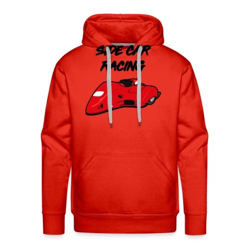 SIDE BASSET F2 - Sweat-shirt à capuche Premium pour hommes