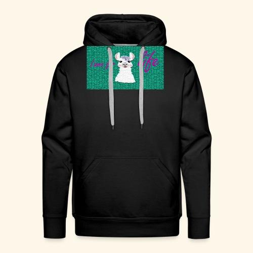 lama / alpaca - Männer Premium Hoodie