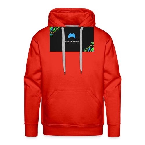 POSCAR GAMES - Sudadera con capucha premium para hombre