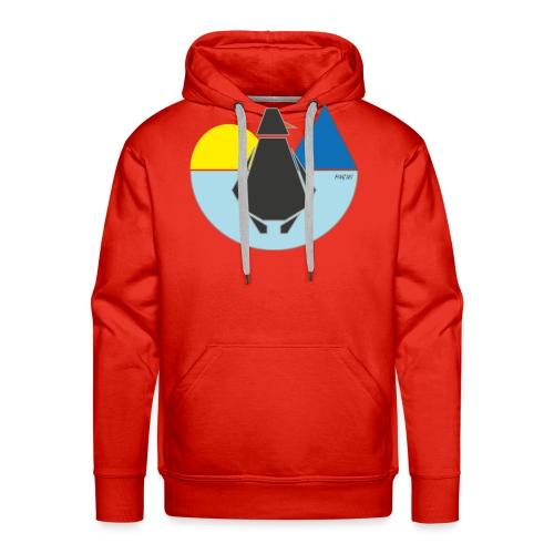 ping us - Sweat-shirt à capuche Premium pour hommes