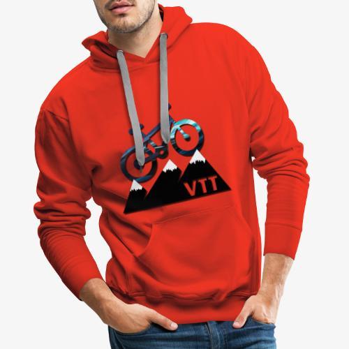 vtt - Sweat-shirt à capuche Premium pour hommes