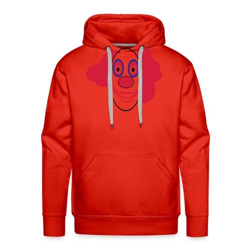 Lustiges clownsgesicht - Männer Premium Hoodie