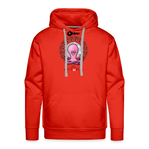 octopus meditation - Men's Premium Hoodie