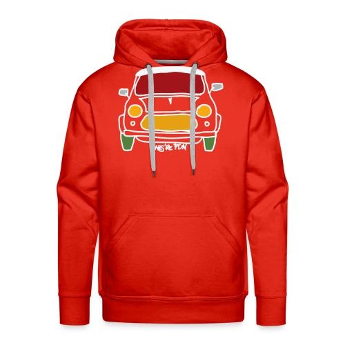 Voiture ancienne anglaise - Sweat-shirt à capuche Premium pour hommes