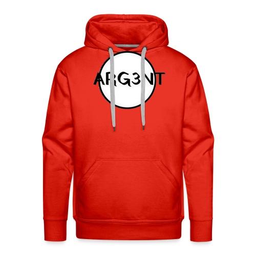 ARG3NT - Sweat-shirt à capuche Premium pour hommes