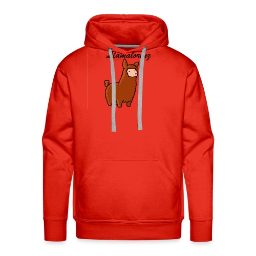 Leonard Llama - Herre Premium hættetrøje