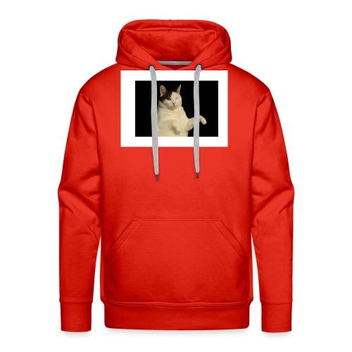 Kitty cat - Mannen Premium hoodie